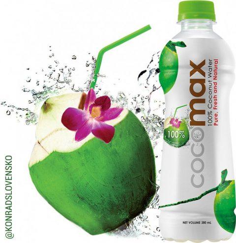 100% kokosová voda Cocomax