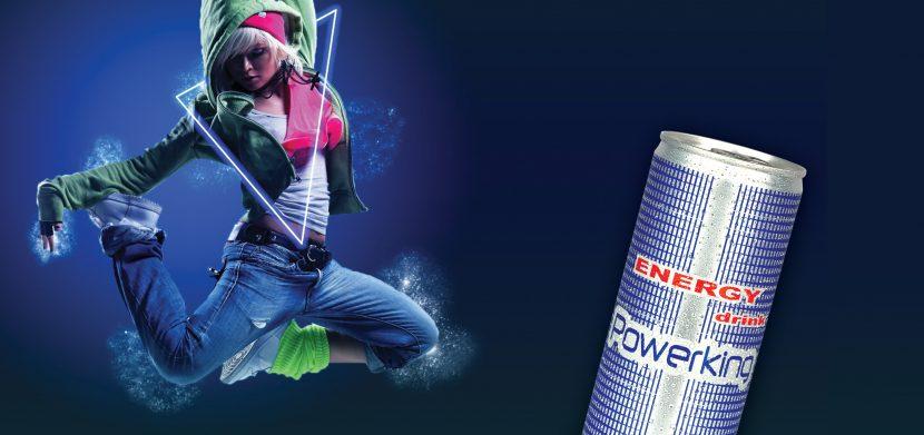 Energetický nápoj powerking