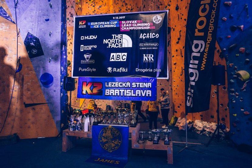 Lezecká stena K2 Bratislava