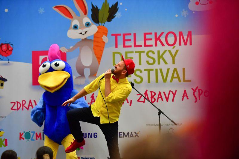 TELEKOM detský festival Miro Jaroš