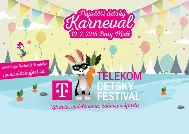 TELEKOM detský festival - najväčší detský karneval