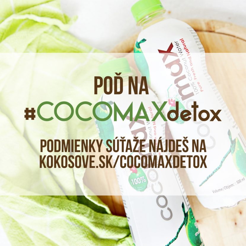 Detox organizmu #COCOMAX detox