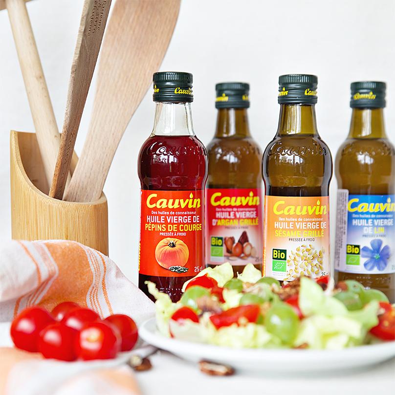 CAUVIN výberové oleje