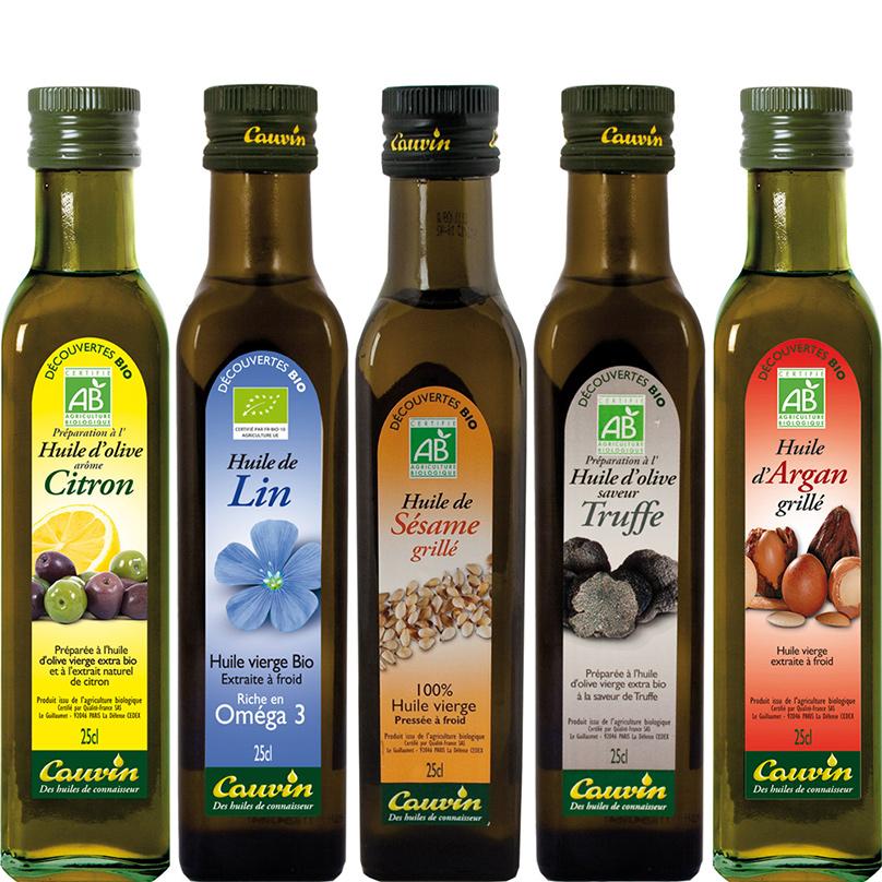 CAUVIN najlepšie oleje