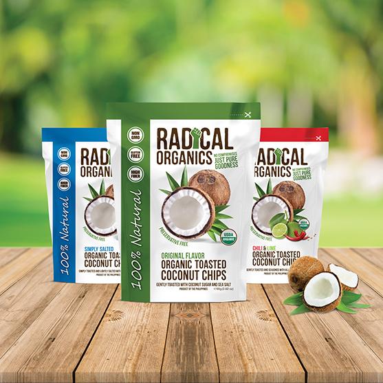 100% kokosové lupienky restované