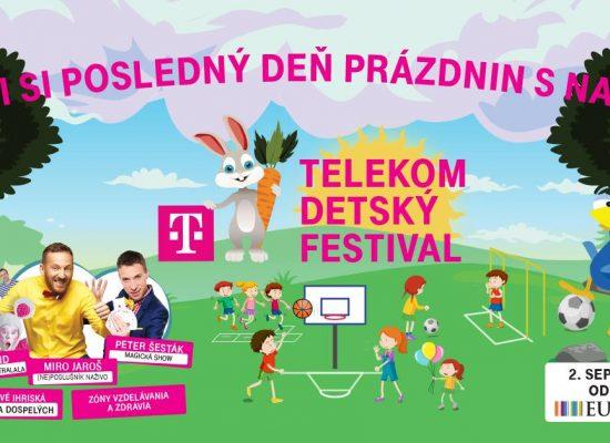 TELEKOM najväčší detský festival, jesenná edícia Eurovea