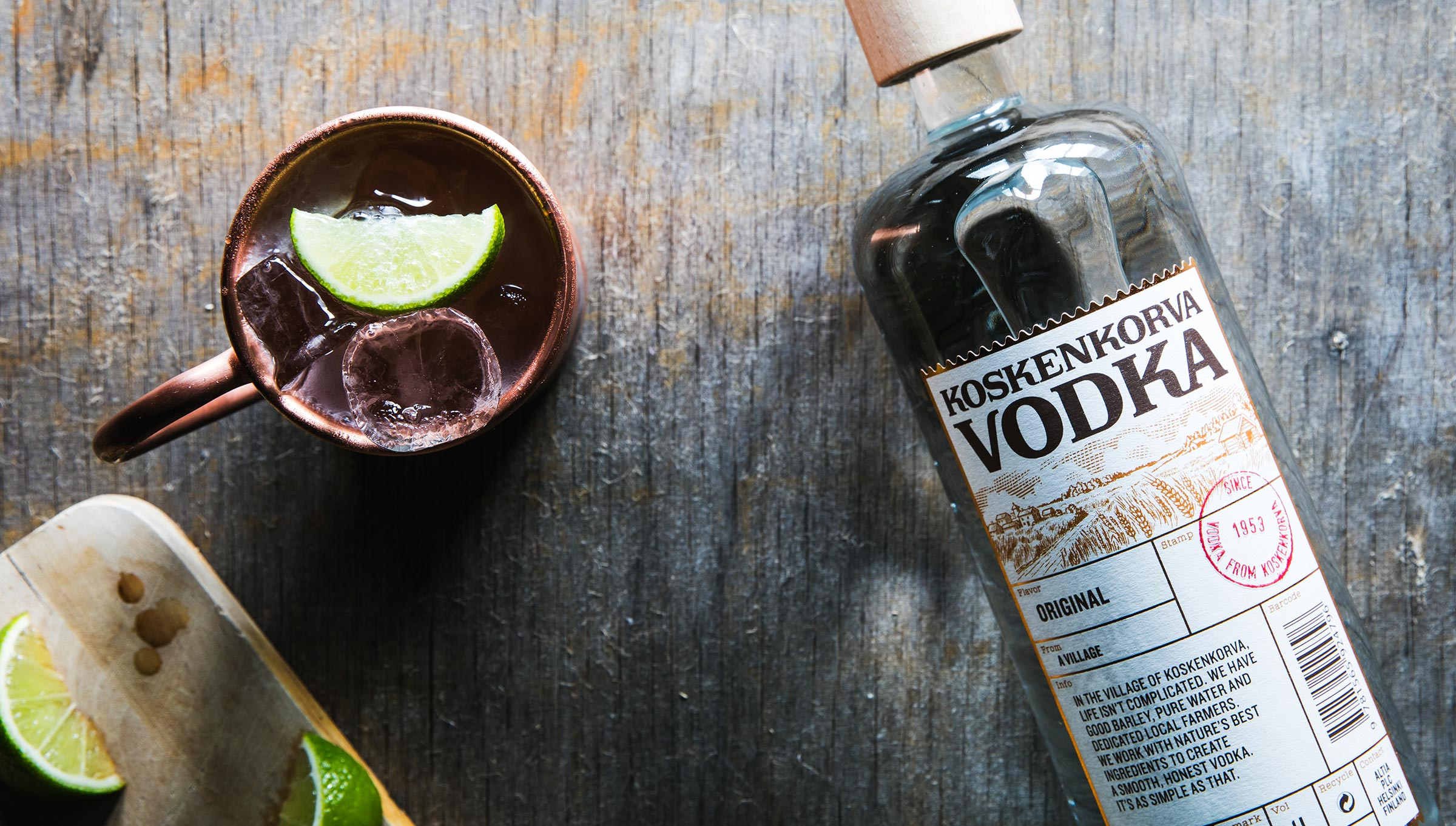 Koskenkorva prémiová vodka