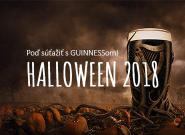 Halloween GUINNESS súťaž 2018